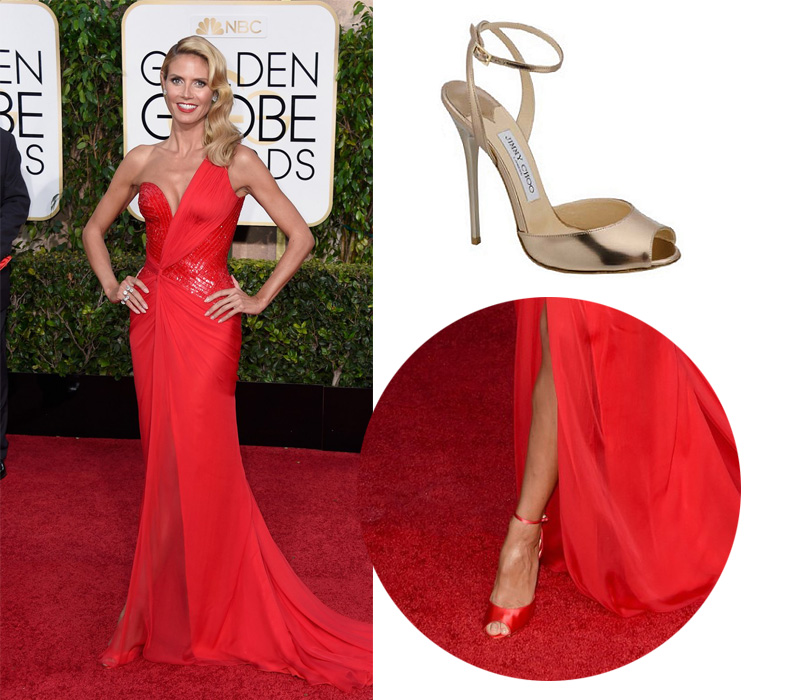 heidi-klum-on-golden-globes-2015-red-carpet-Jimmy-choo