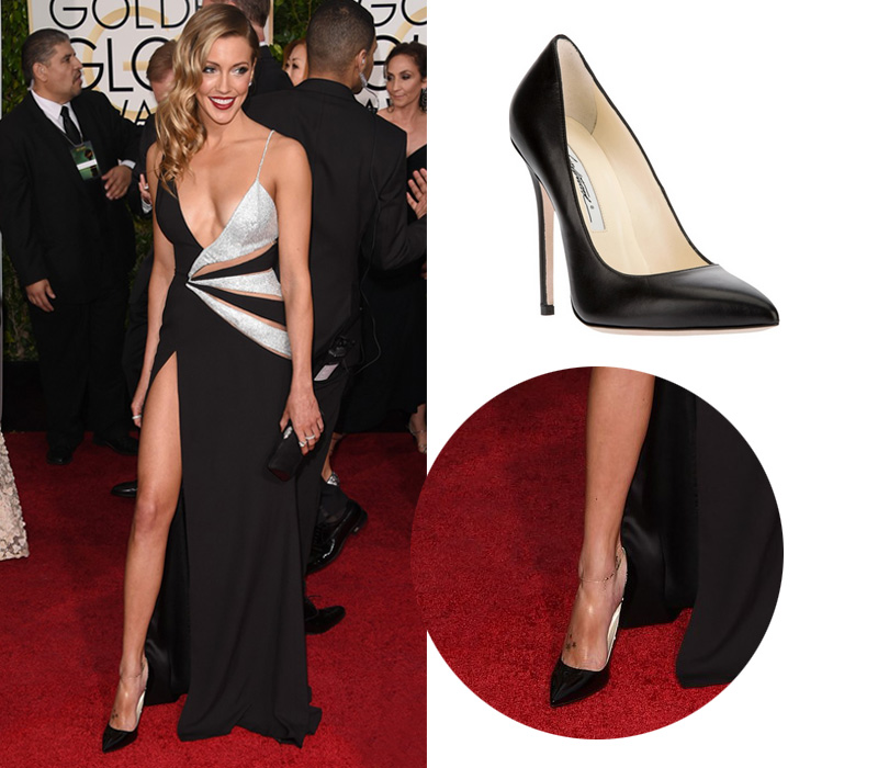 katie-cassidy-dana-brunetti-golden-globes-2015-Brian-Atwood-Shoes