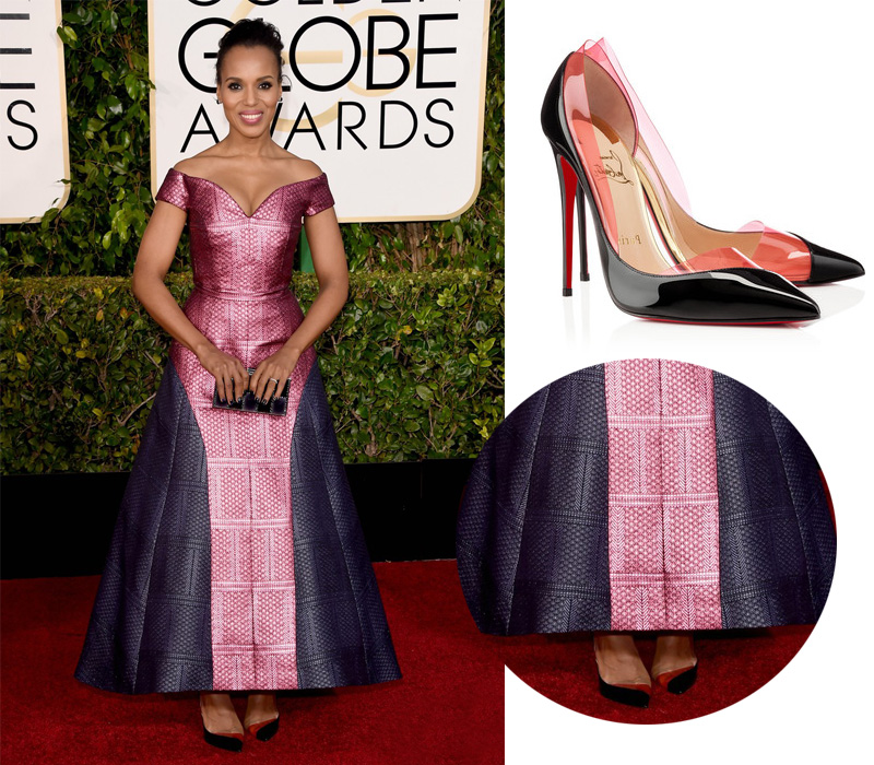 kerry-washington-golden-globes-2015-Chritian-Louboutin