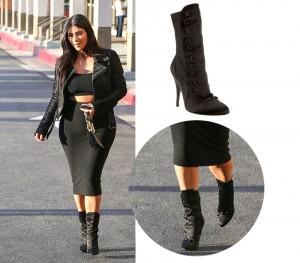 kim-khloe-kardashian-Balmain-Satin-Boots