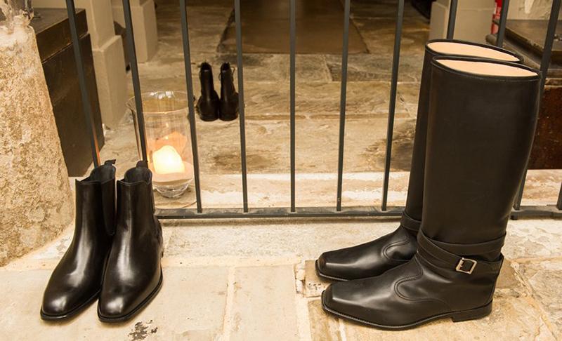 manolo blahnik debut men u0026 39 s shoe collection in london
