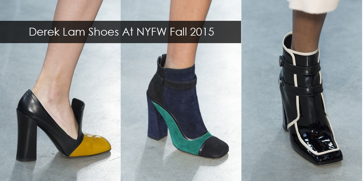 Derek Lam Shoes At New York Fashion Week Fall Winter 2015 -2016