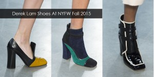 Derek Lam Shoes At New York Fashion Week Fall Winter 2015 -2016