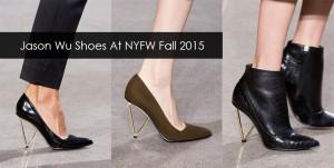 Jason Wu Shoes At New York Fashion Week Fall Winter 2015 - 2016