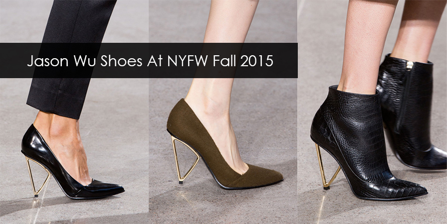 Jason Wu Shoes At New York Fashion Week Fall Winter 2015 - 2016