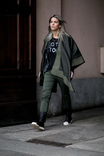Street Style Milan Fashion Week Fall 2015