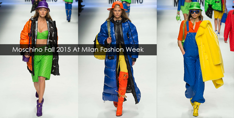 Fashion Shows 2016 Moschino At Milan Fashion Week