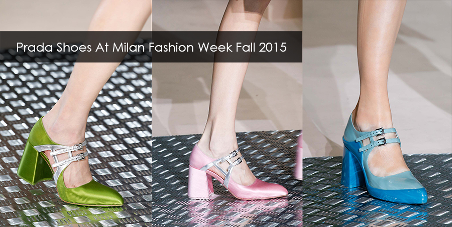 Shoes Fashion Show 2015 Prada fall collection is