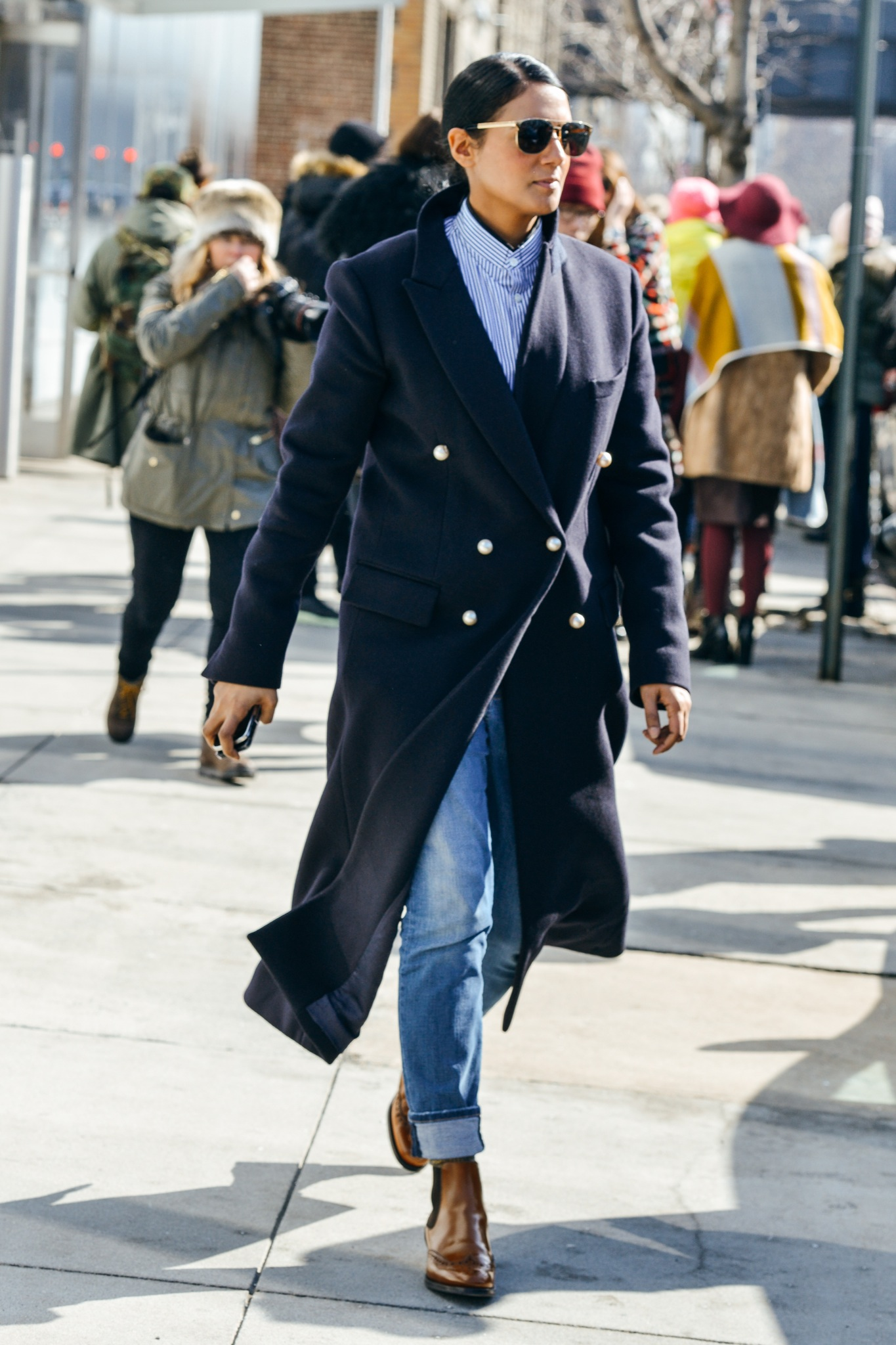 Best Street Style At London Fashion Week Fall Winter 2015 2016