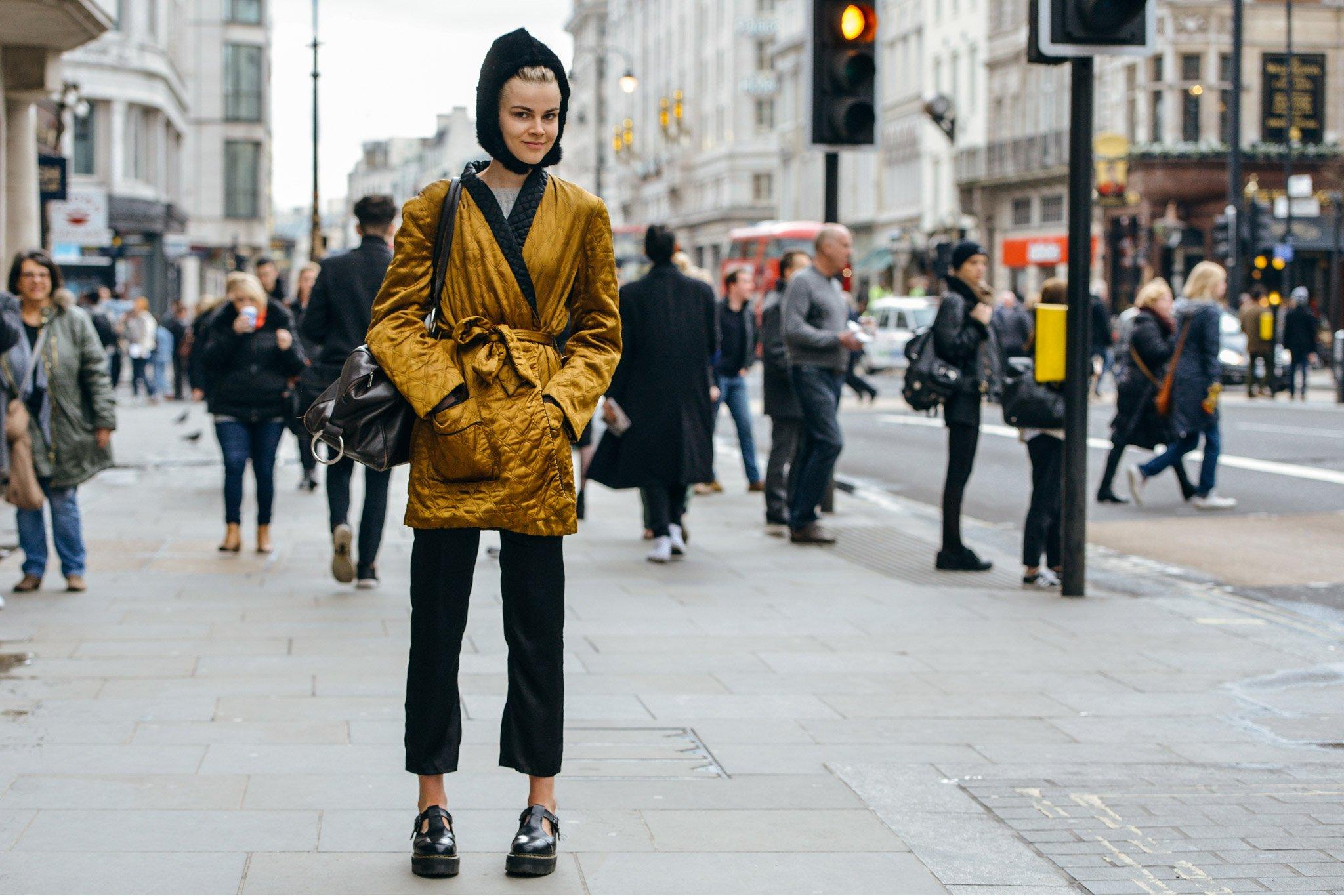 Best Street Style At London Fashion Week Fall Winter 2015