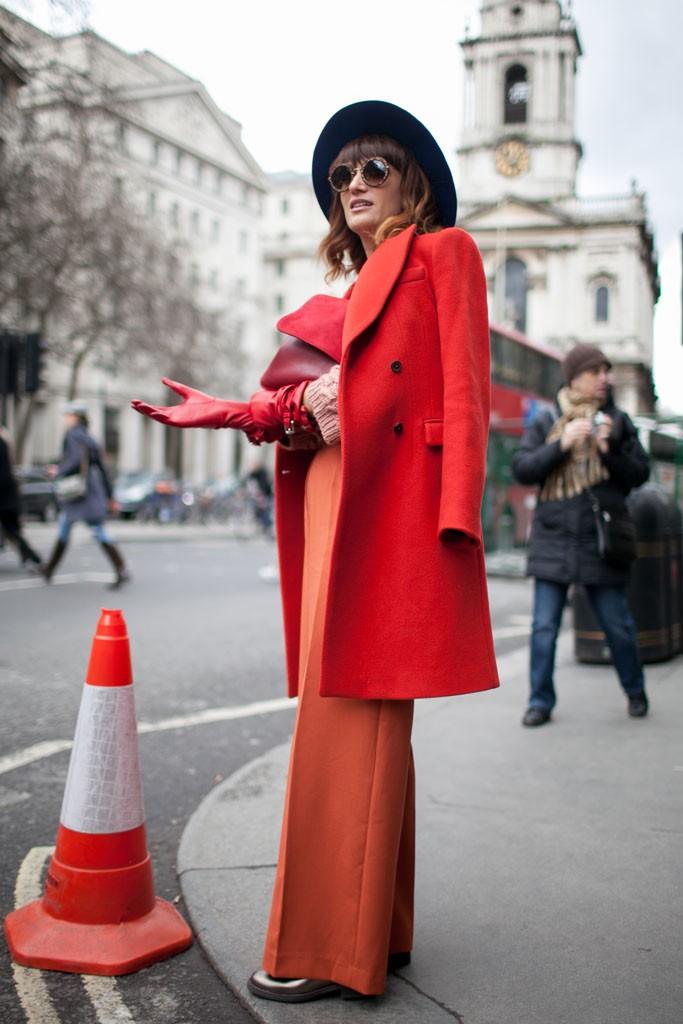 Best Street Style At London Fashion Week Fall Winter 2015 2016
