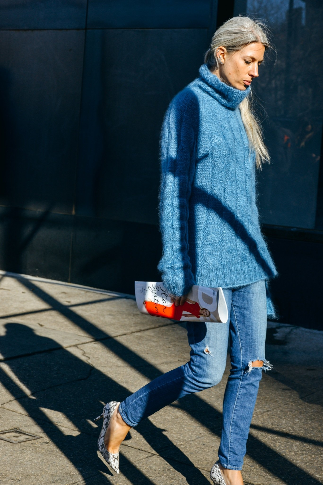 Best Street Style At London Fashion Week Fall Winter 2015 ...