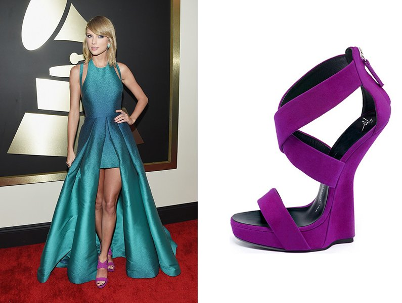 taylor-swift-grammys-2015-red-carpet-shoes
