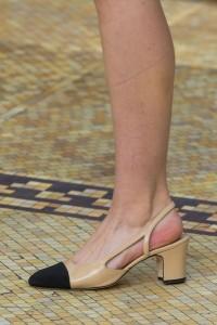 Chanel shoes at paris fashion week fall winter 2015/2016