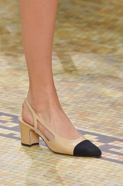 Chanel shoes at paris fashion week fall winter 2015/2016