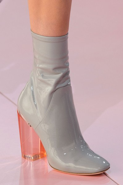 2015-2016 Winter Trend of Dior: Boot With Acrylic Heels