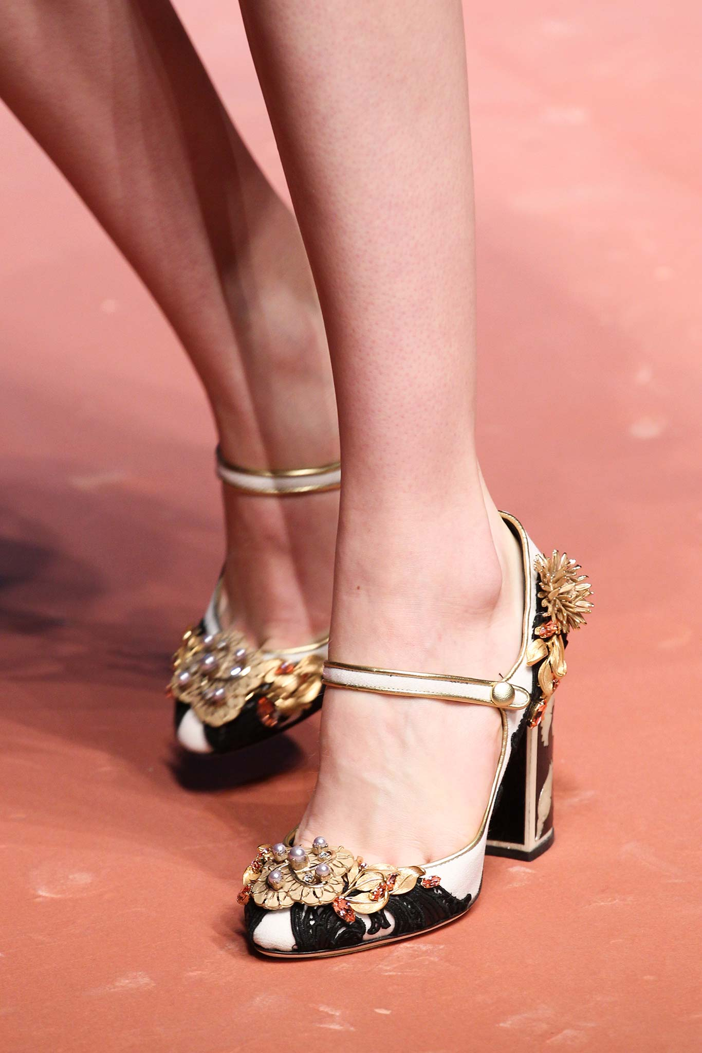 Dolce And Gabbana Red Shoes