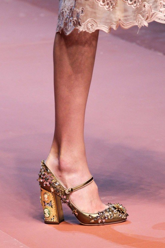 Dolce & Gabbana Shoes Fall 2015 Milan | CHIKO Blog
