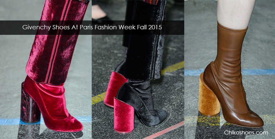 Givenchy Shoes At Paris Fashion Week Fall Winter 2015/2016