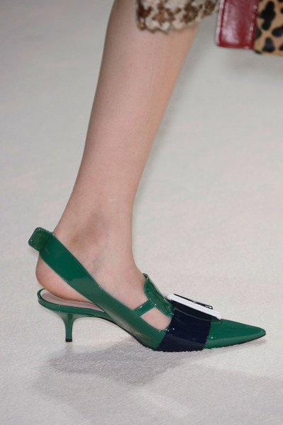 Click through the gallery to see Miu Miu Shoes At Paris Fashion Week Fall Winter 2015/2016 | Chiko Blog