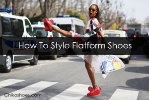 how to style flatform shoes - chiko-blog
