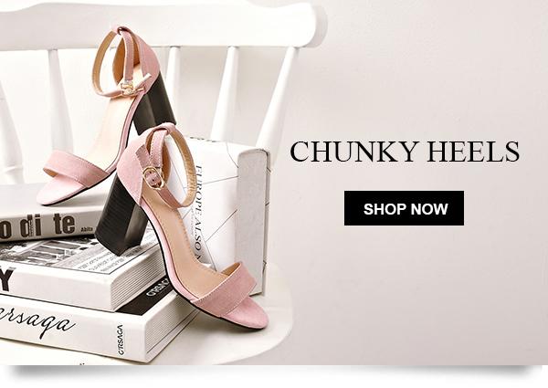 Shop Chiko Shoes Chunky Heels