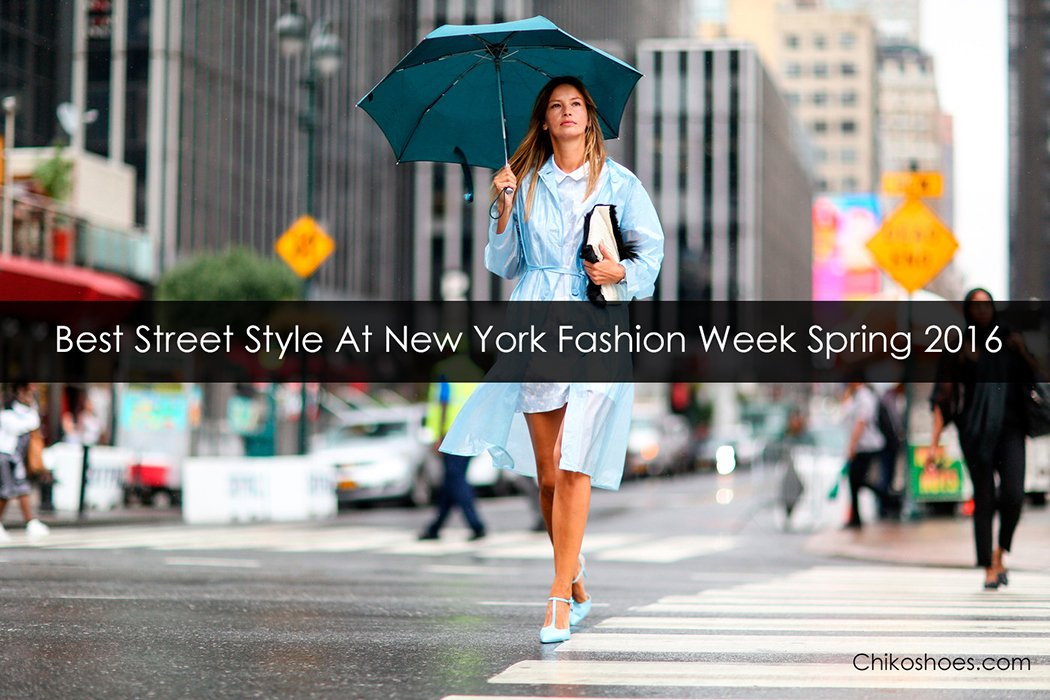 Best street style at New York Fashion Week Spring 2016 | Chiko Blog