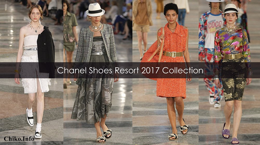 Chanel Shoes Resort 2017 Collection Video
