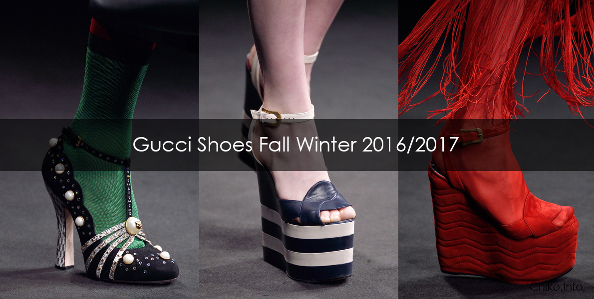 Gucci Shoes Fall Winter 2016 2017