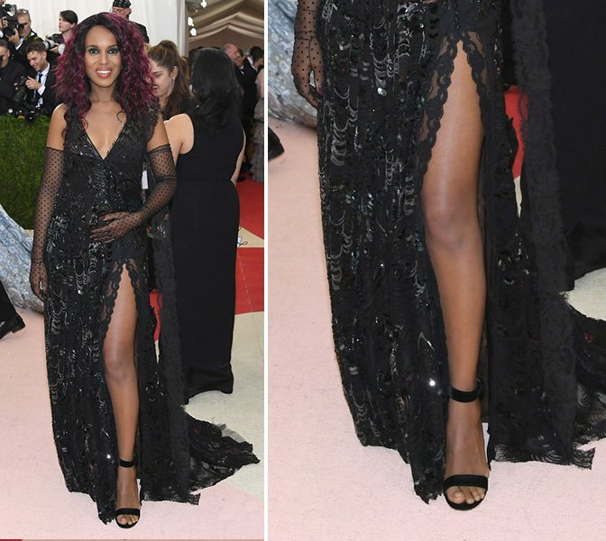 kerry-washington-at-met-gala-Gianvito-Rossi-red-carpet-shoes