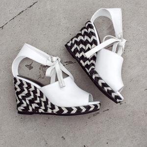 Chiko Delit Lace Up Espadrille Wedge Sandals