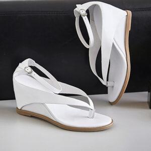 Chiko Desaree Thong Wedge Strap Sandals
