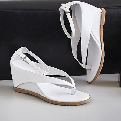 Chiko Desaree Thong Wedge Strap Sandals