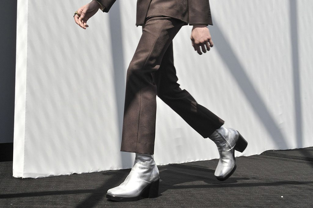 Balenciaga Introduces High Heel Boots For Men
