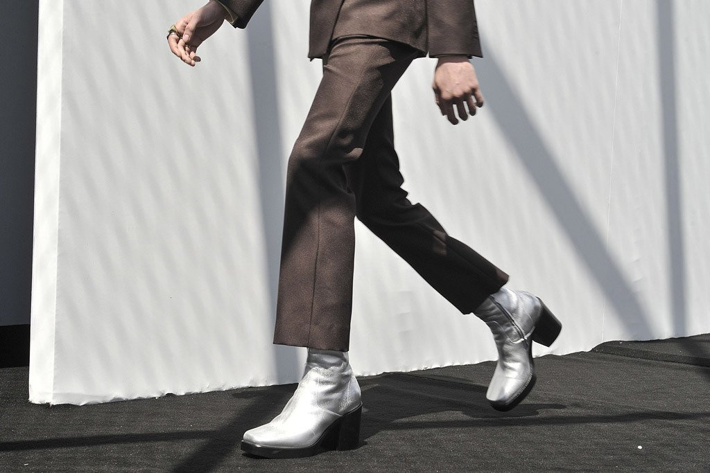 Balenciaga Introduces High Heel Boots For Men