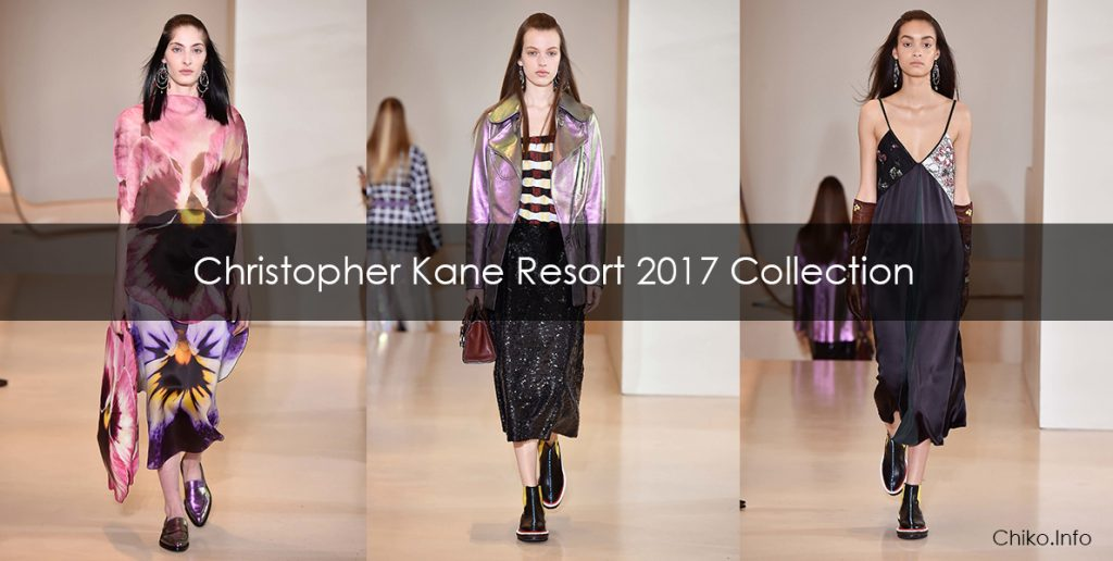 Christopher Kane Resort 2017 Collection