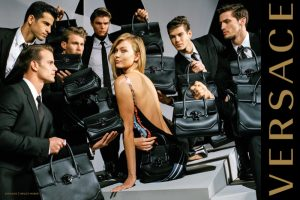 Gigi Hadid & Karlie Kloss Play Mums In Versace Fall 2016 Campaign