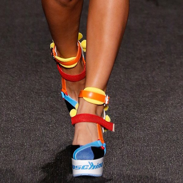 Moschino Women Shoes Resort 2017