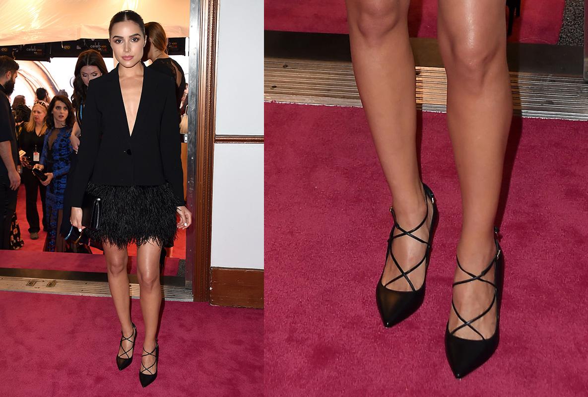 Olivia Culpo CFDA 2016 Shoes