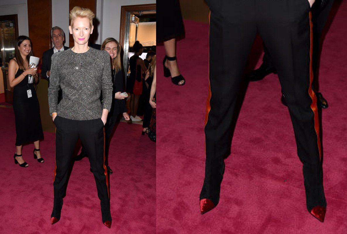 Tilda Swinton CFDA 2016 Shoes