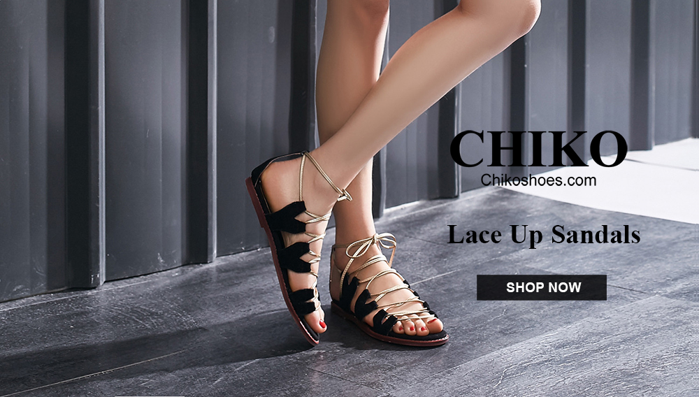 Chiko Shoes Lace Up Sandals