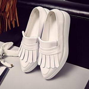 Chiko Lisa Fringe Platform Loafer