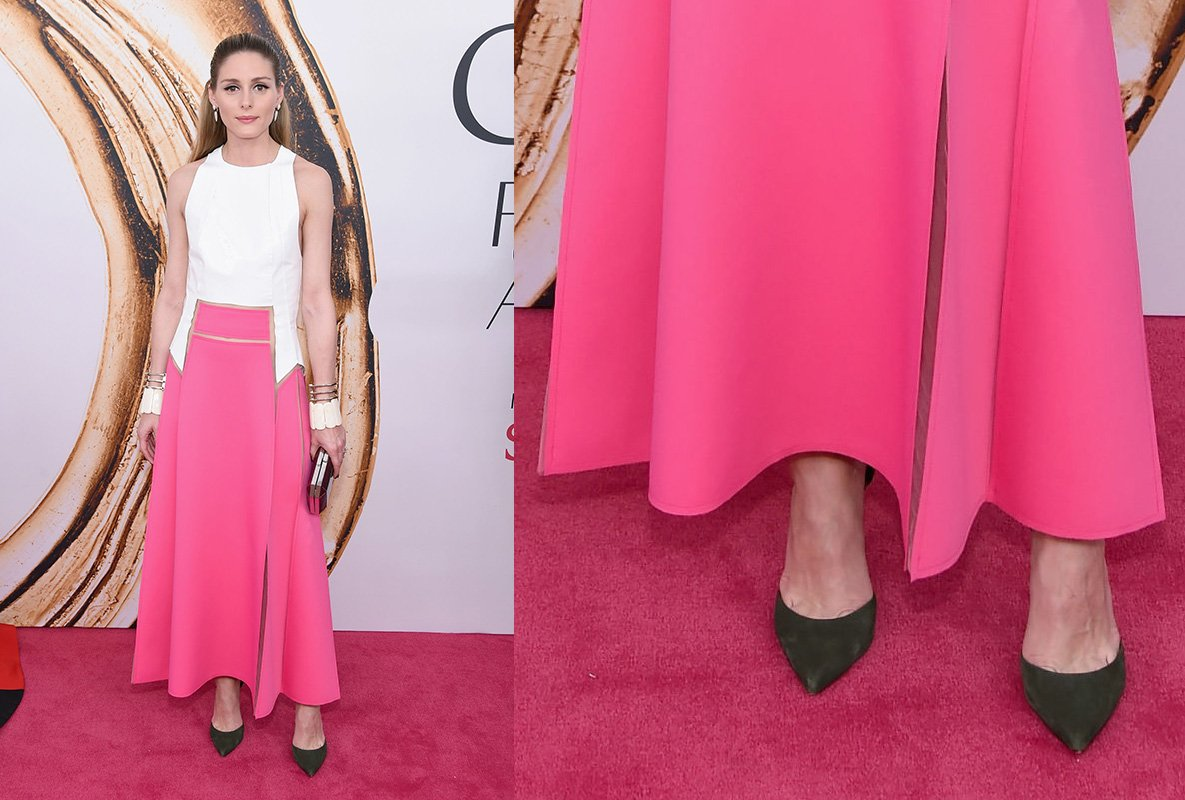 Olivia Palermo CFDA 2016 Shoes