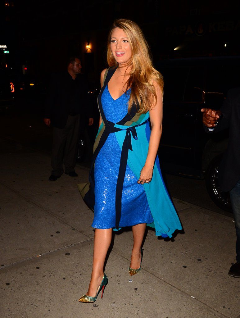 Blake Lively Maternity Styles Are Just Getting Better And