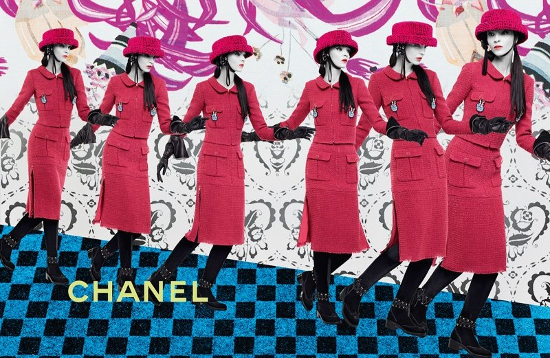 Karl Lagerfeld Took A Different Approach For Chanel Fall 2016 Ad Campaign