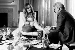 Jennifer Lopez Giuseppe Zanotti Shoe Design