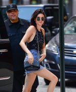 Bella Hadid Kendall Jenner ankle boots