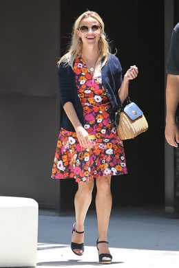 How To Style Summer Espadrille Wedges Like Reese Witherspoon