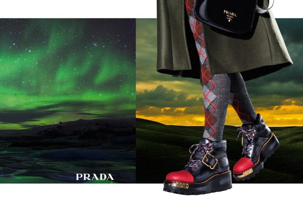 Prada fall 2016 advertisement campaign