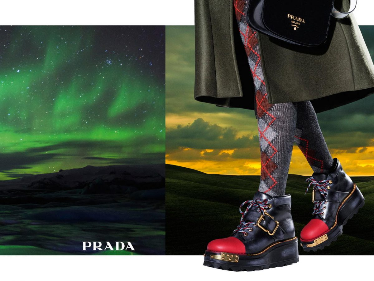 Prada fall 2016 advertisement campaign